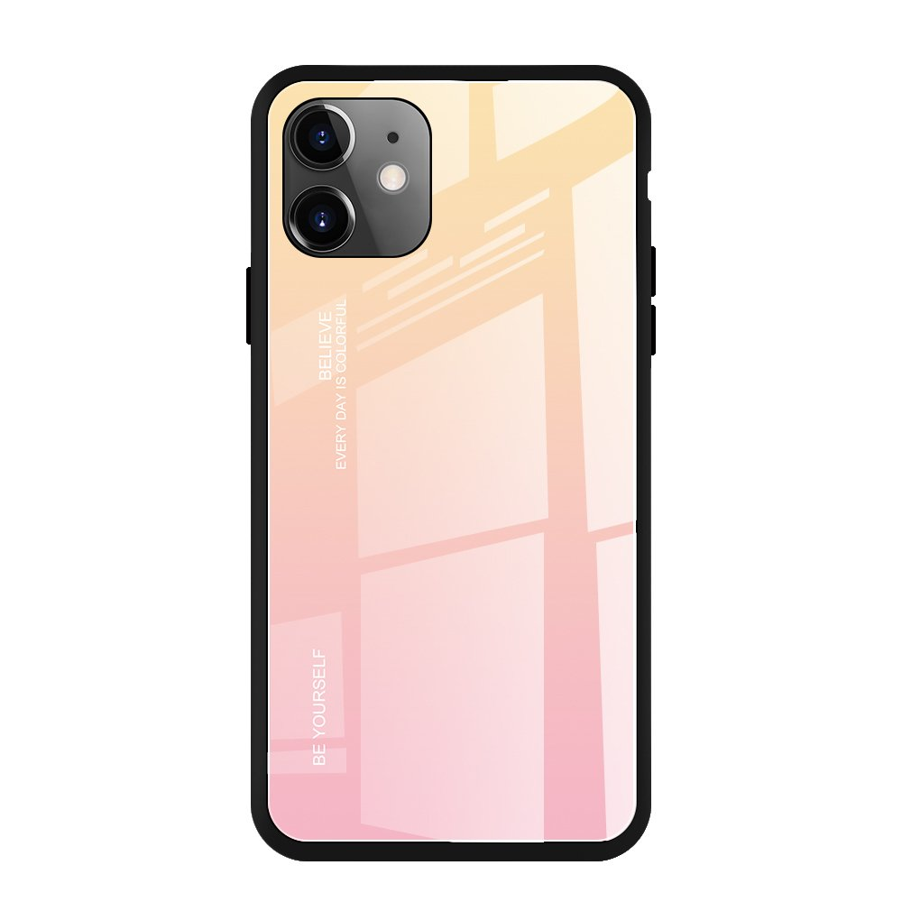 iphone 11 pink szinatmenetes tok