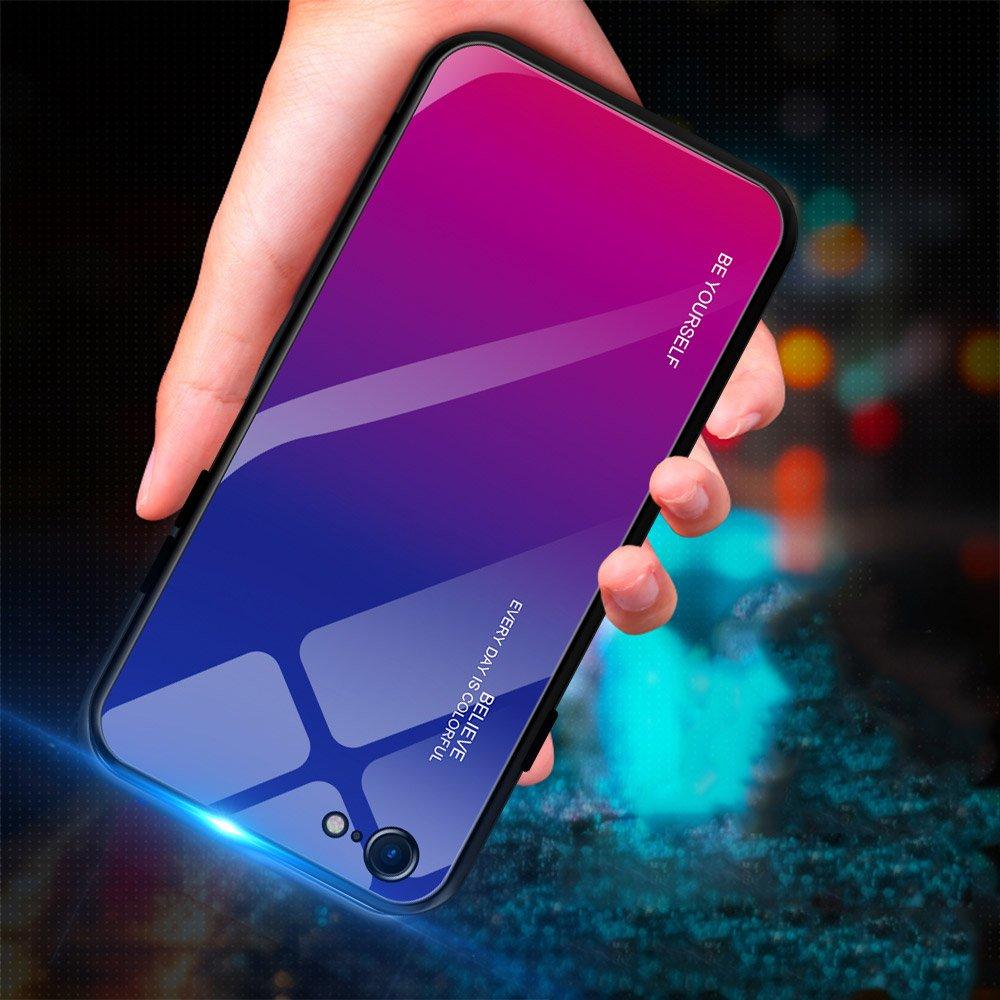 iphone 8 voros szinatmenetes tok