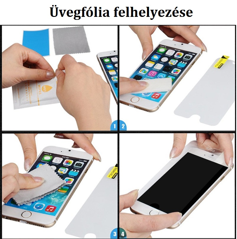 iphone uvegfolia felrakasa