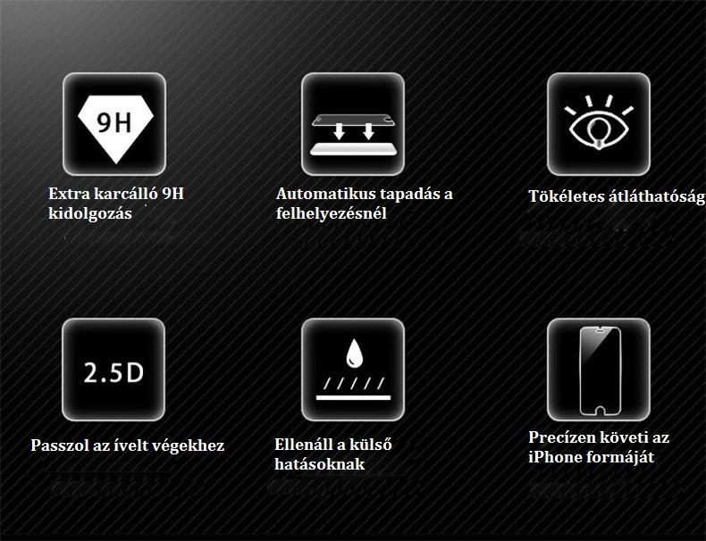 iphone uvegfolia tulajdonsagok