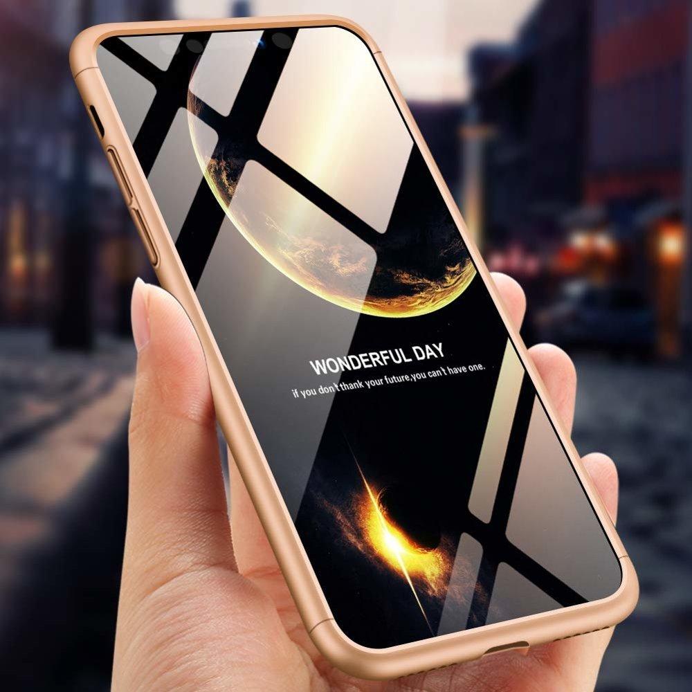 iphone x 360 fokos tok arany