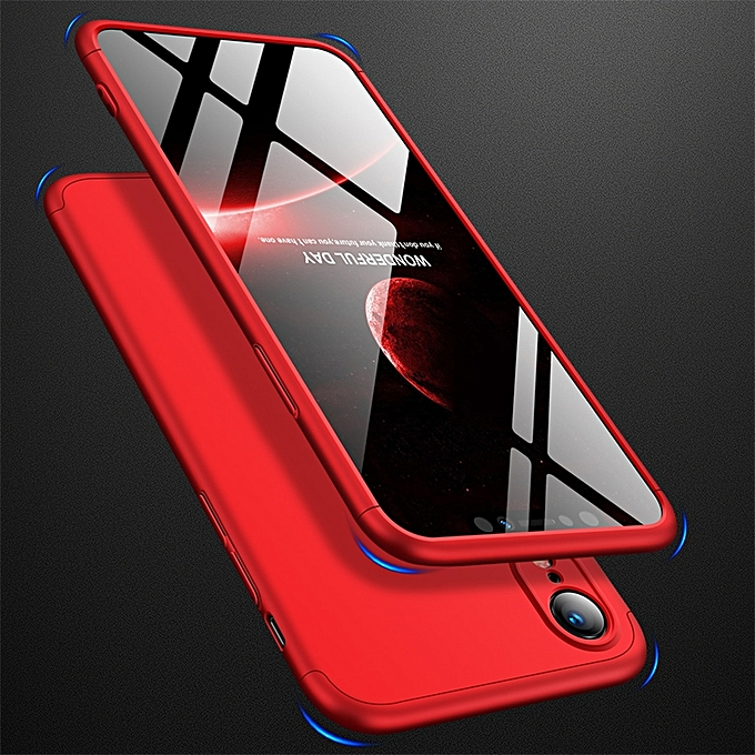 iphone xr 360 fokos tok piros
