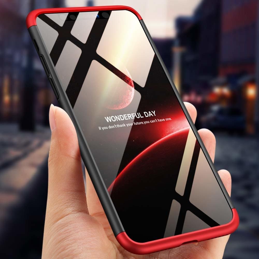 iphone xs max piros fekete tok