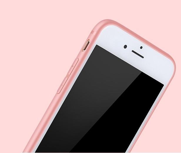 iphone tok szilikon rozsaszin