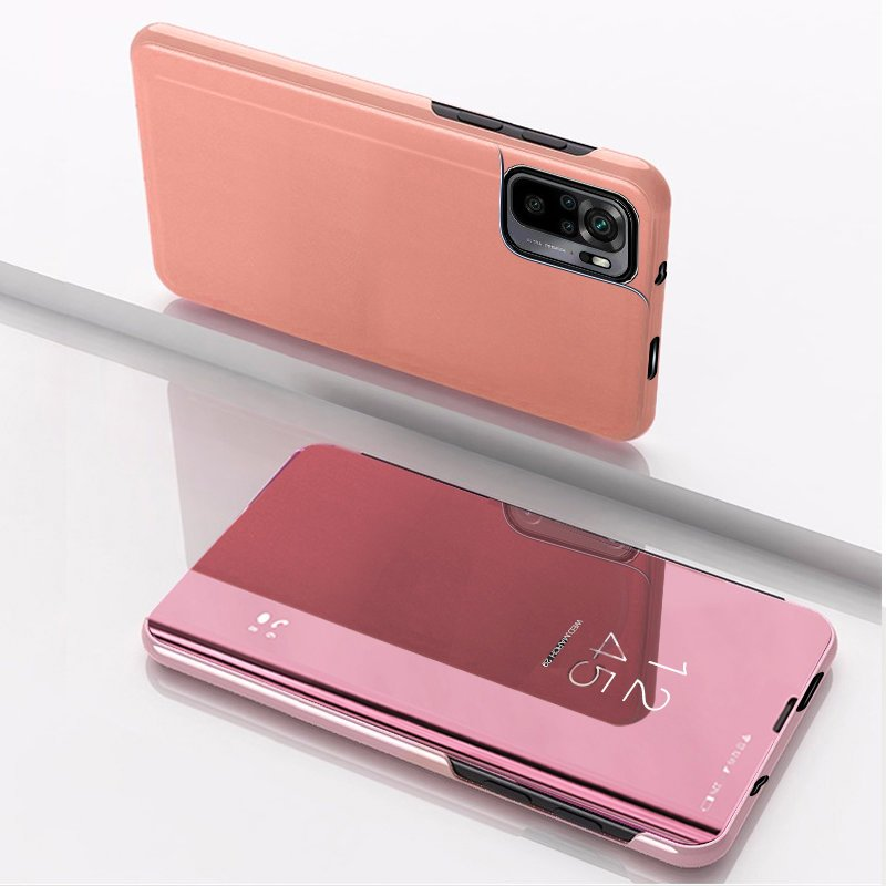 redmi note 10 pink clear view tok