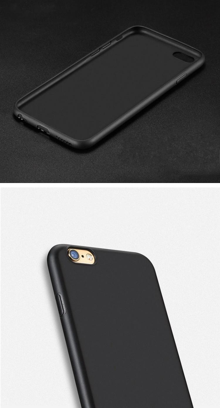 fekete iphone szilikon tok