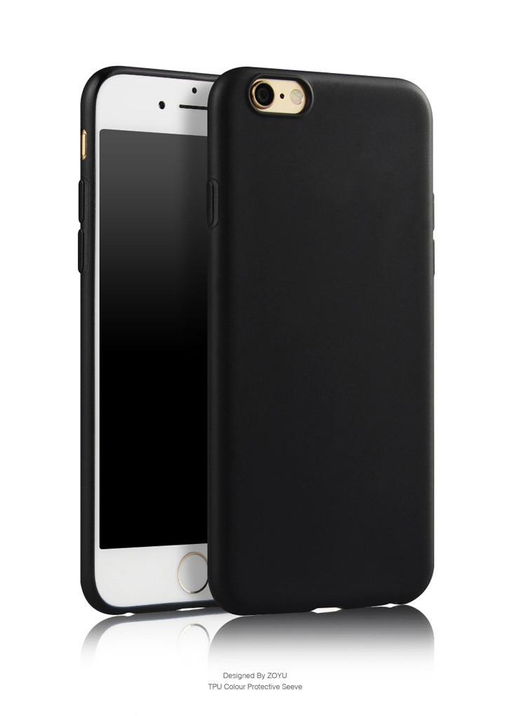 iphone szilikon fekete tok